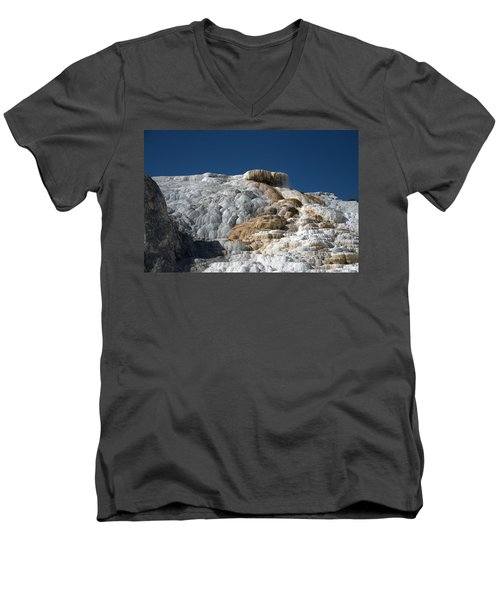 Mammoth Hot Springs 2 Men's V-Neck T-Shirt