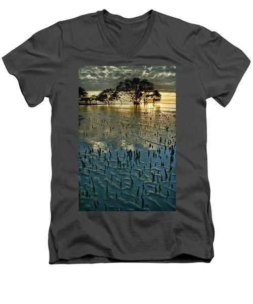 Mangroves Men's V-Neck T-Shirt