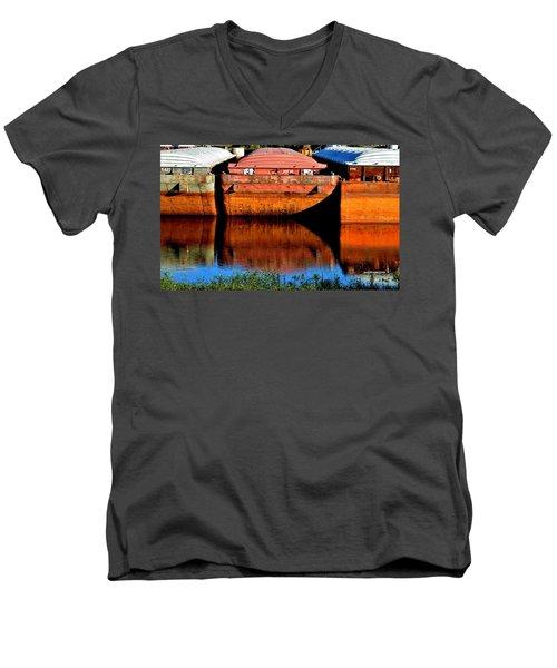 Many Miles Men's V-Neck T-Shirt