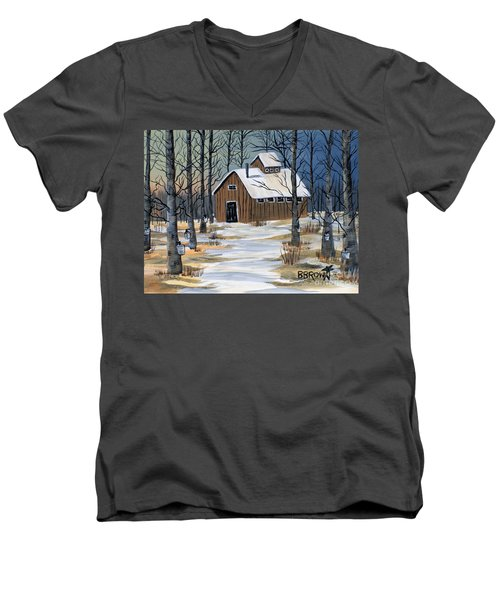 Maple Syrup Shack Men's V-Neck T-Shirt