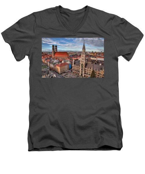 Marienplatz Men's V-Neck T-Shirt