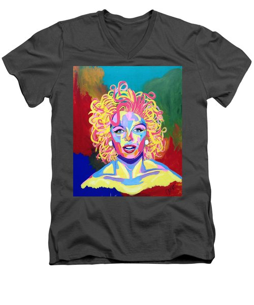 Marilyn  Men's V-Neck T-Shirt