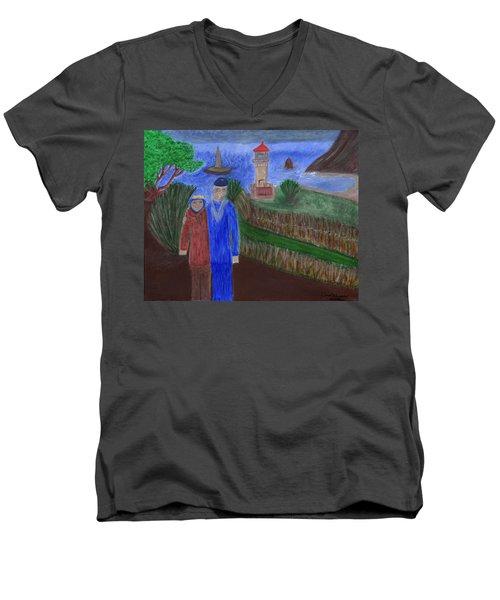 Mariner's Cove  Men's V-Neck T-Shirt