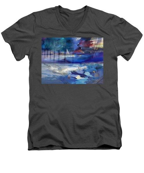 Maritime Fantasy Men's V-Neck T-Shirt