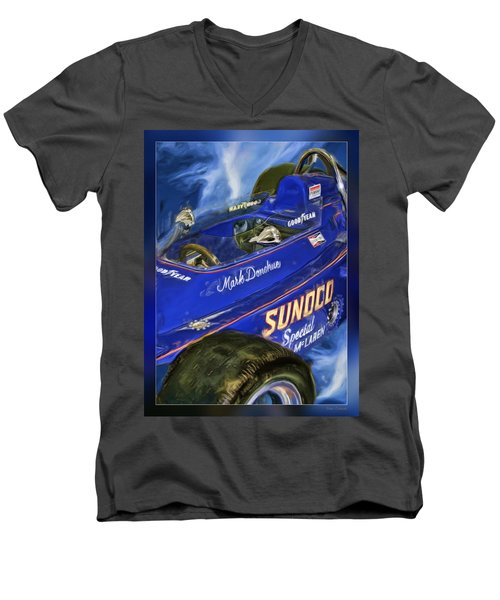 Mark Donohue 1972 Indy 500 Winning Car Men's V-Neck T-Shirt