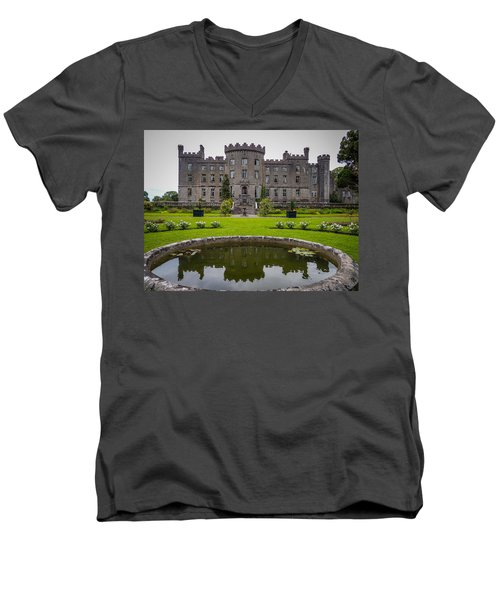 Markree Castle In Ireland's County Sligo Men's V-Neck T-Shirt