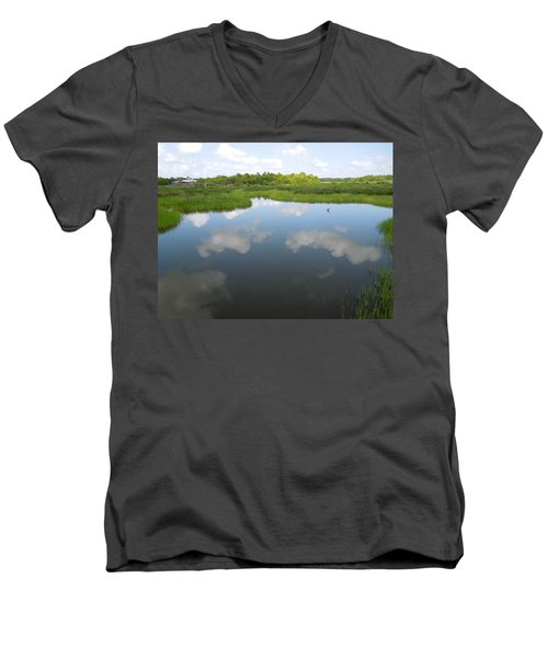 Marshland Men's V-Neck T-Shirt