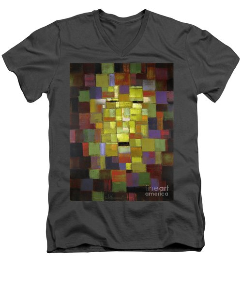 Mask Of Color Men's V-Neck T-Shirt