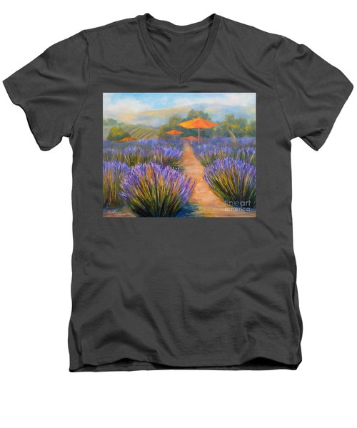 Matanzas Winery Men's V-Neck T-Shirt