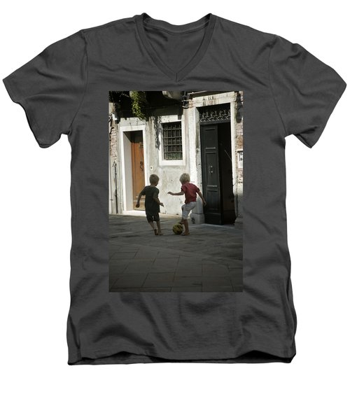 Match Of The Day Men's V-Neck T-Shirt