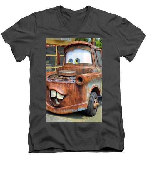 Mater Men's V-Neck T-Shirt