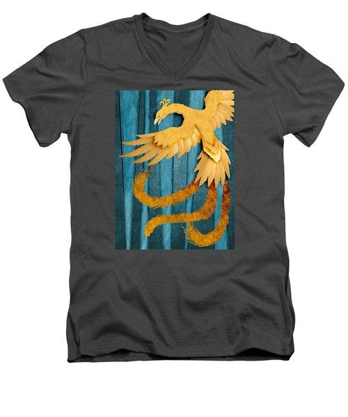 Material Fenix Men's V-Neck T-Shirt