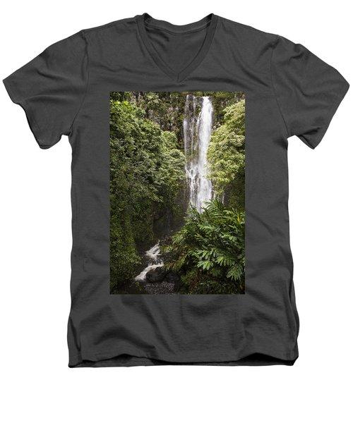 Maui Waterfall Men's V-Neck T-Shirt