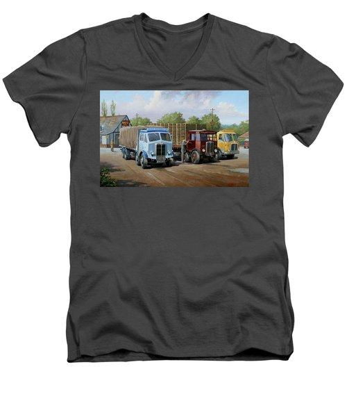 Max's Transport Cafe Men's V-Neck T-Shirt