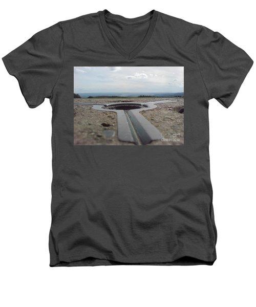 Maytrig Men's V-Neck T-Shirt by John Williams