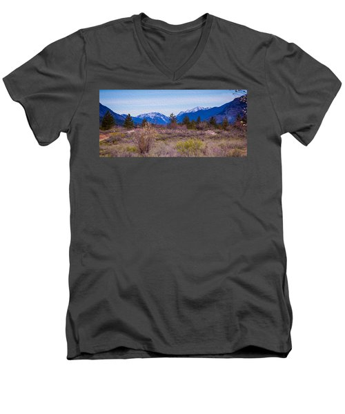 Mazama From Wolf Creek Men's V-Neck T-Shirt
