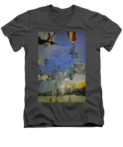 Meatier Illogical Cold Front Men's V-Neck T-Shirt by Cliff Spohn