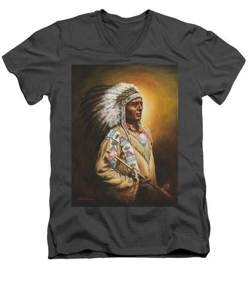 Medicine Chief Men's V-Neck T-Shirt