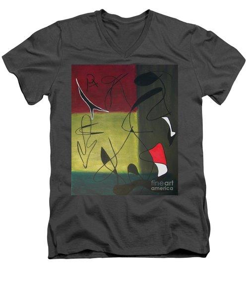 Medium Men's V-Neck T-Shirt