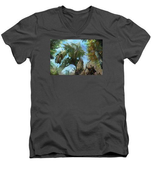 Megantic Sliver Men's V-Neck T-Shirt