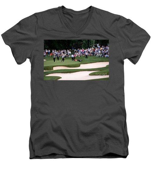 12w192 Memorial Tournament Photo Men's V-Neck T-Shirt