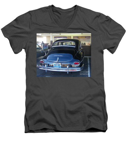 Men's V-Neck T-Shirt featuring the photograph Memories by Bobbee Rickard