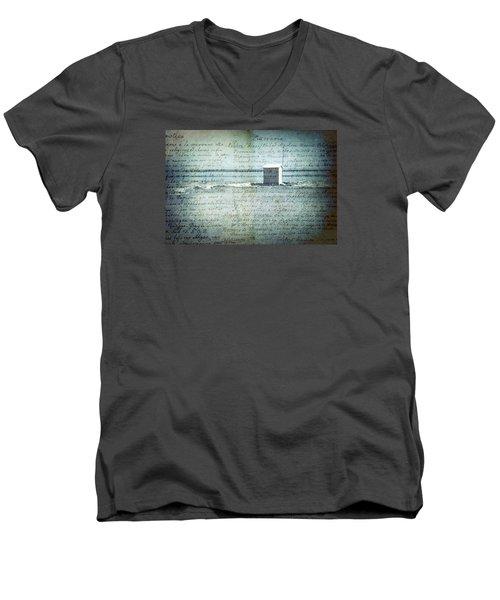 Memories... Men's V-Neck T-Shirt by Vittorio Chiampan