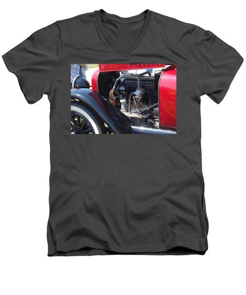 Mercer Power Men's V-Neck T-Shirt