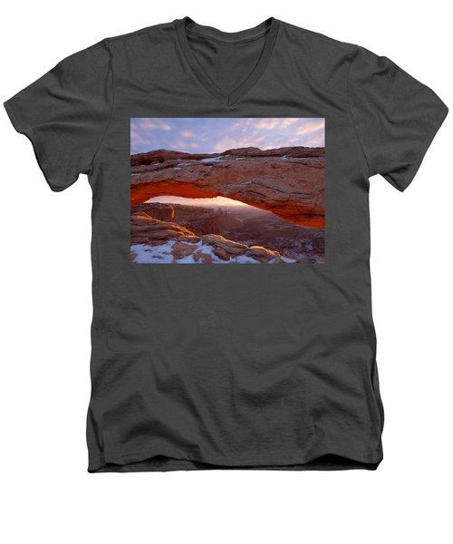 Mesa Glow Men's V-Neck T-Shirt
