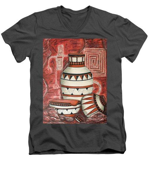 Messages Men's V-Neck T-Shirt