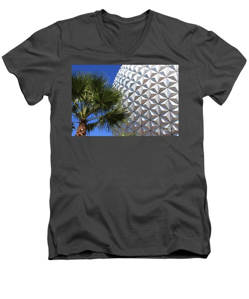 Metal Earth Men's V-Neck T-Shirt