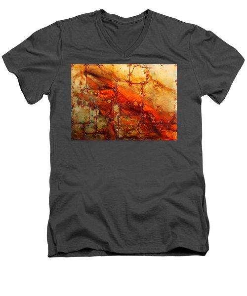 Metalwood Men's V-Neck T-Shirt
