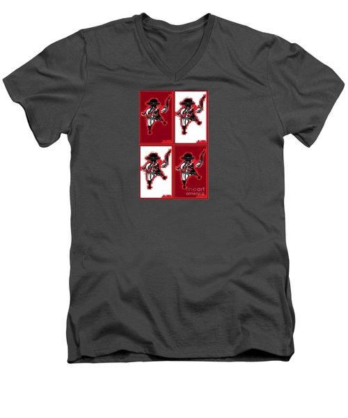 Feista 2 Men's V-Neck T-Shirt