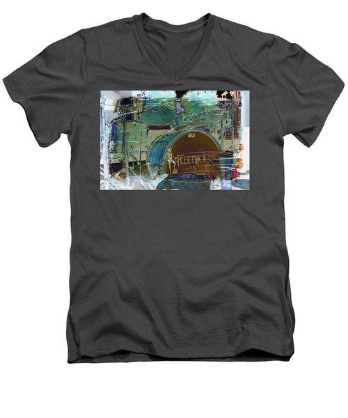 Mick's Drums Men's V-Neck T-Shirt