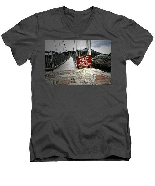 Mile High Men's V-Neck T-Shirt