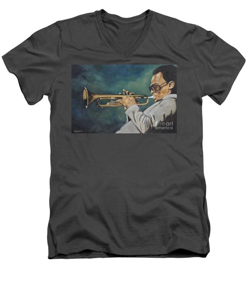 Miles Davis - Solo Men's V-Neck T-Shirt