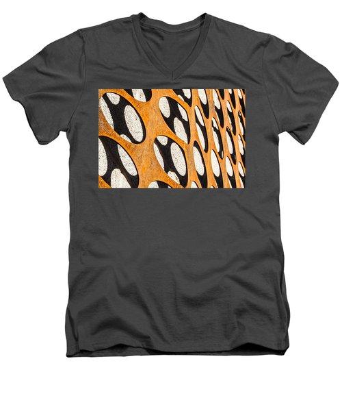 Mind - Logic Men's V-Neck T-Shirt by Steven Milner