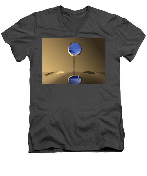 Mind Well Men's V-Neck T-Shirt