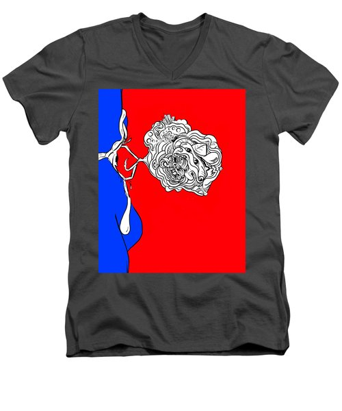 Mineds Eye Men's V-Neck T-Shirt