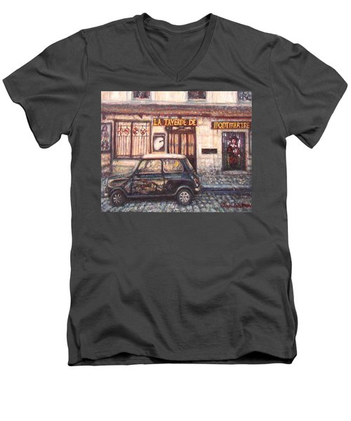 Mini De Montmartre Men's V-Neck T-Shirt