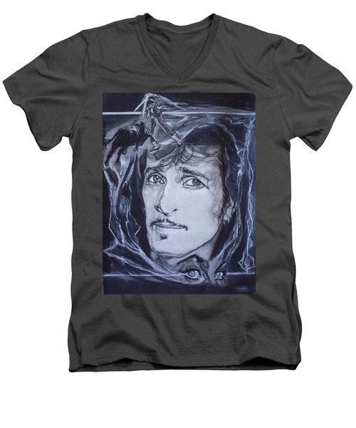Mink Deville - Coup De Grace Men's V-Neck T-Shirt by Sean Connolly