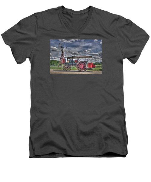 Minneapolis At The Windmill Men's V-Neck T-Shirt