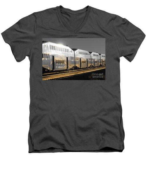 Mirror Of The Winter Sun Men's V-Neck T-Shirt