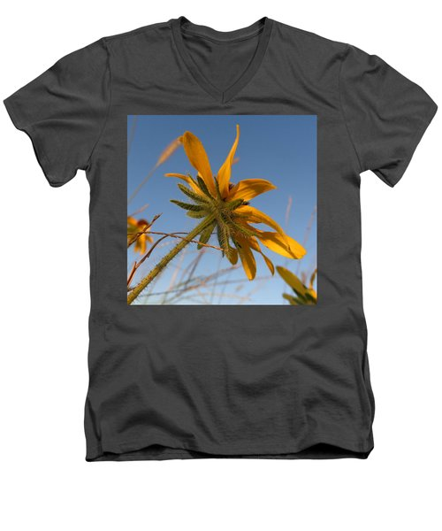 Men's V-Neck T-Shirt featuring the photograph Miss Daisy by Joseph Skompski