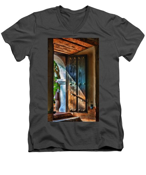 Mission Door Men's V-Neck T-Shirt