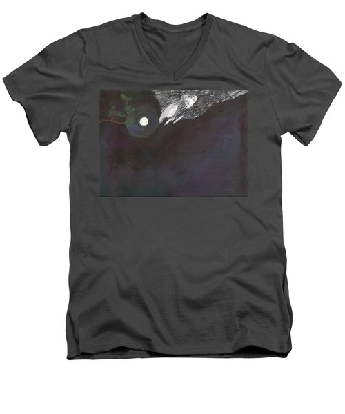 Misty Twinight Men's V-Neck T-Shirt