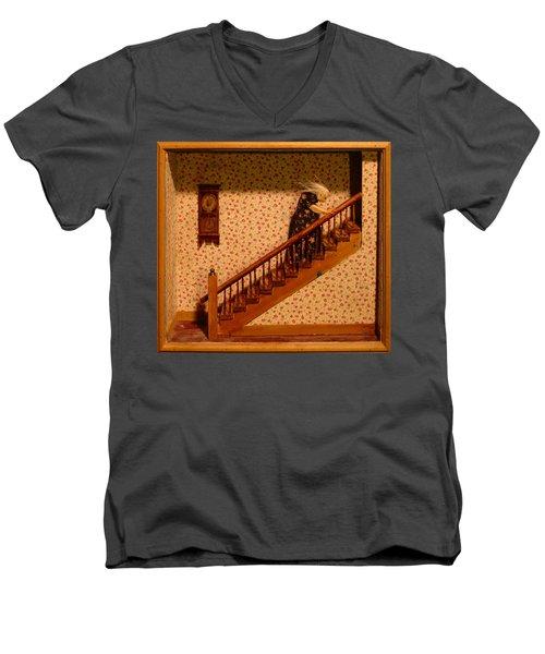 Mm003 Men's V-Neck T-Shirt