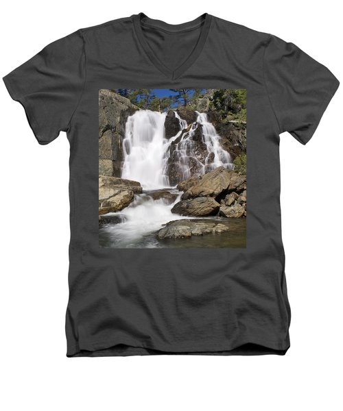 Modjesku Falls Men's V-Neck T-Shirt