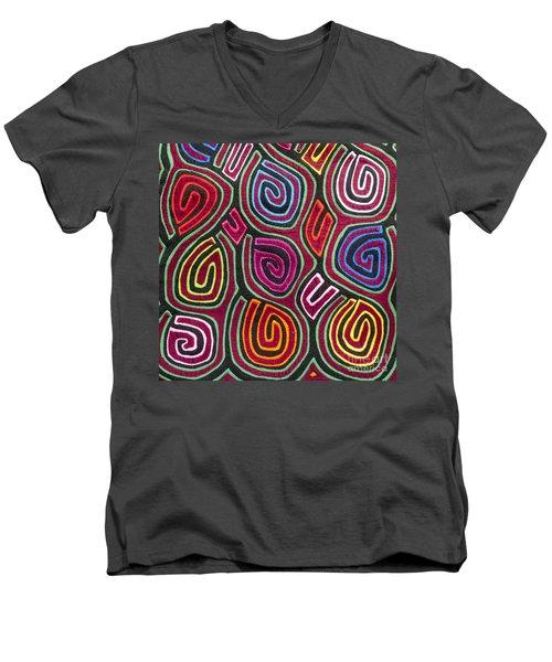 Mola Art Men's V-Neck T-Shirt