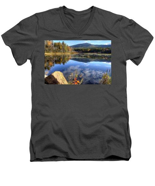 Monadnock Reflections Men's V-Neck T-Shirt